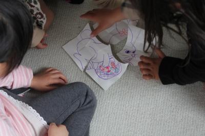 Bunny Puzzle イースターバニーのパズル