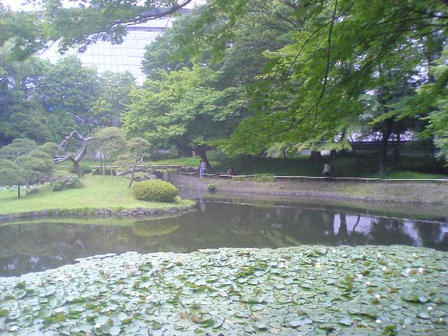 後楽園内庭