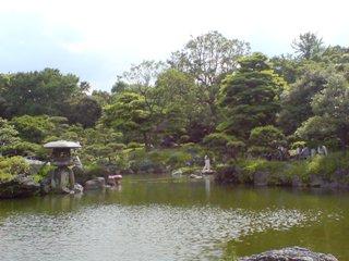 清澄庭園・松島&傘亭
