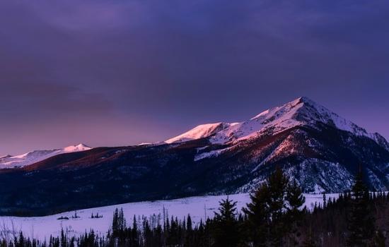 コロラドの山