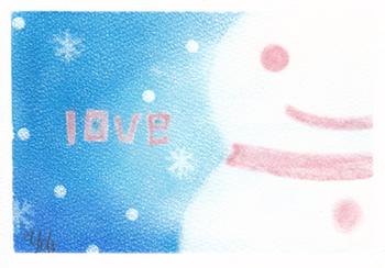 雪だるまーloveー