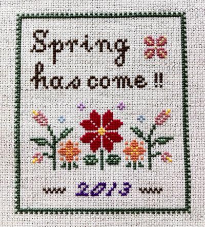 春がきた!