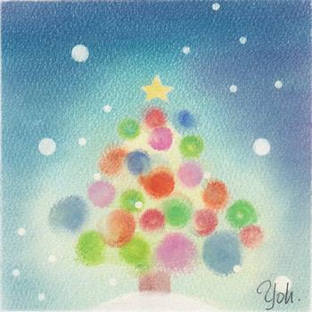 互人多さんのクリスマスツリー1
