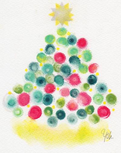 クリスマスツリー/20161201