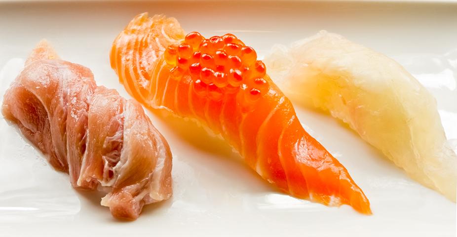 握り寿司3カン