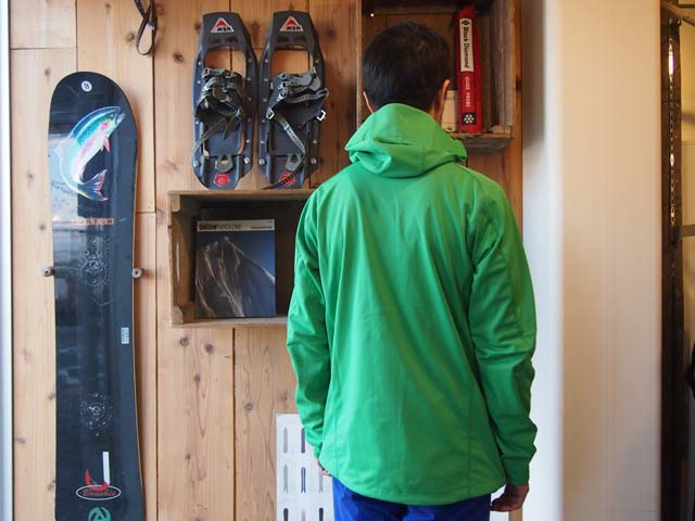 Exhibition Shell Jacket : 【gore tex ゴアテックス photo exhibition】wind stopper soft