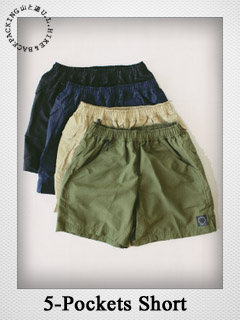 5-Pockets Shorts