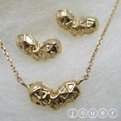 arachnoid heart(K18) ネックレス・ピアス