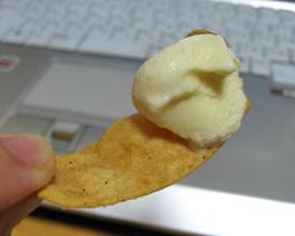 ポテトチップス&アイス