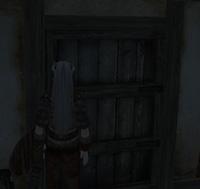 宿屋ドア前