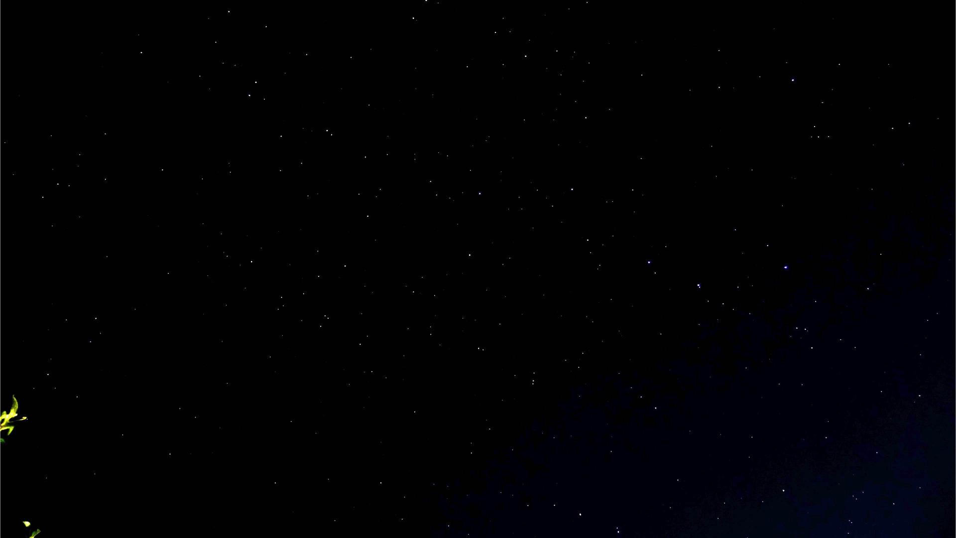 4日前の北斗七星