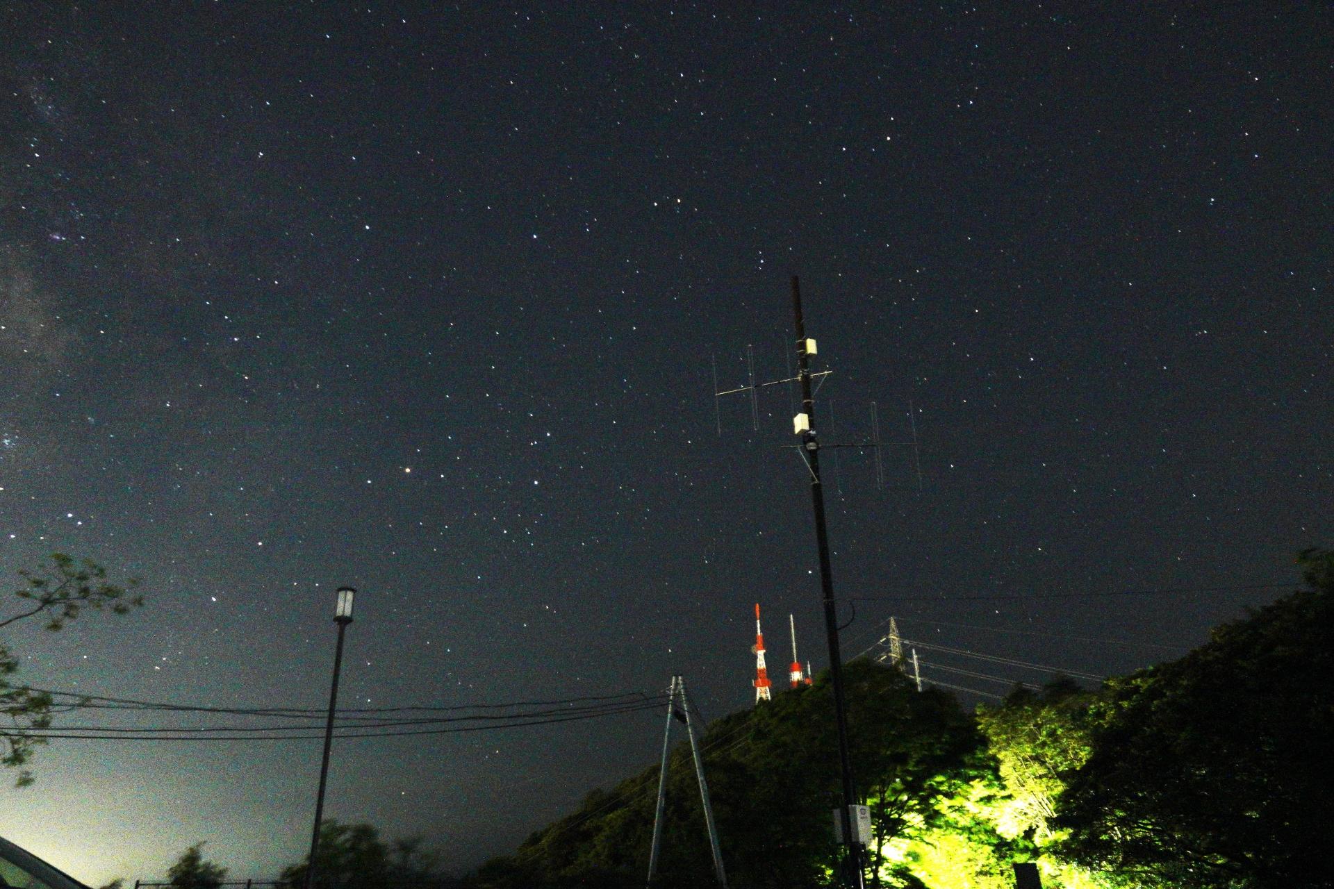 愛宕山展望台の駐車場
