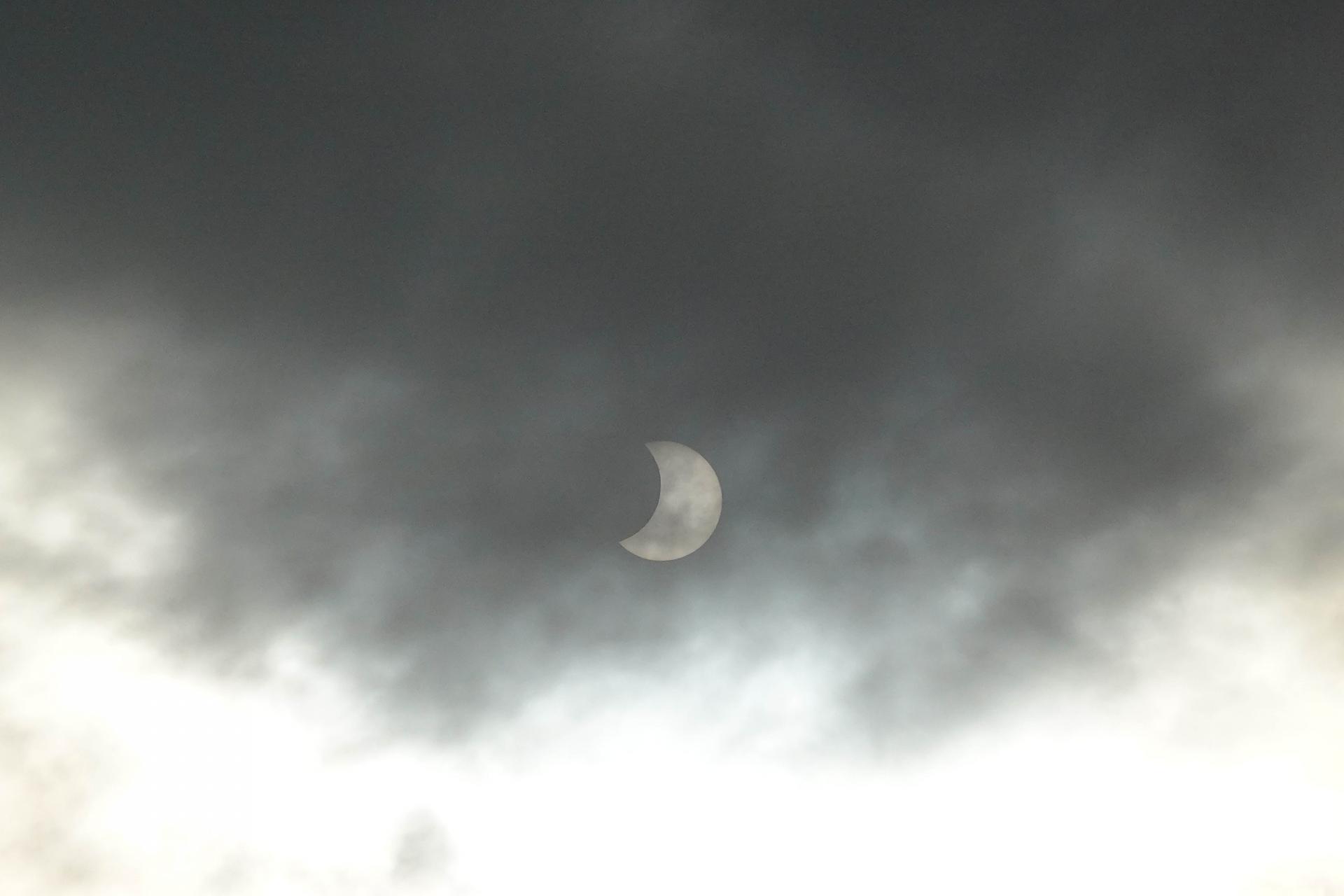 RX100M7で撮れた部分日食