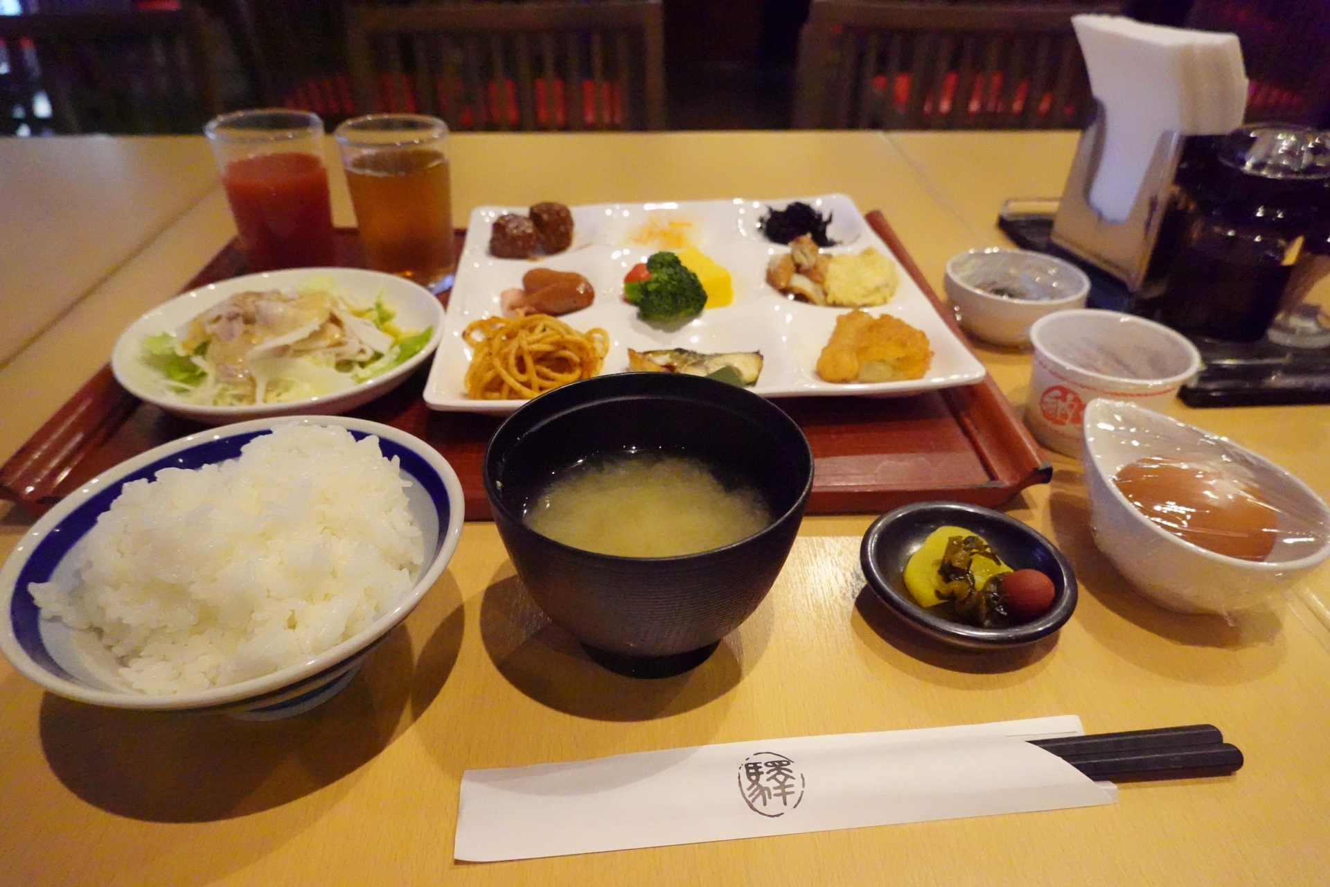 JR九州ホテル鹿児島の朝食