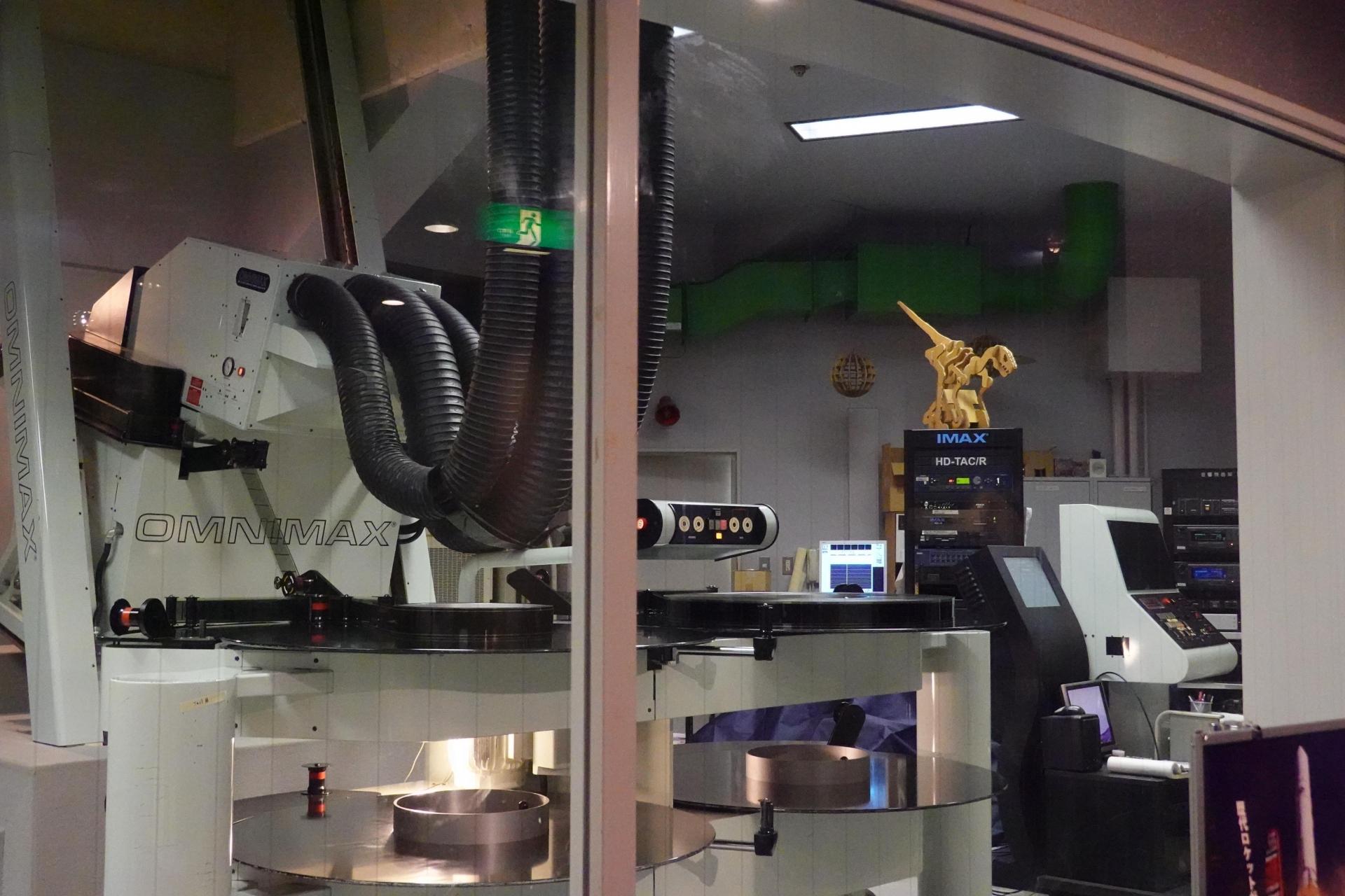 IMAX映写機