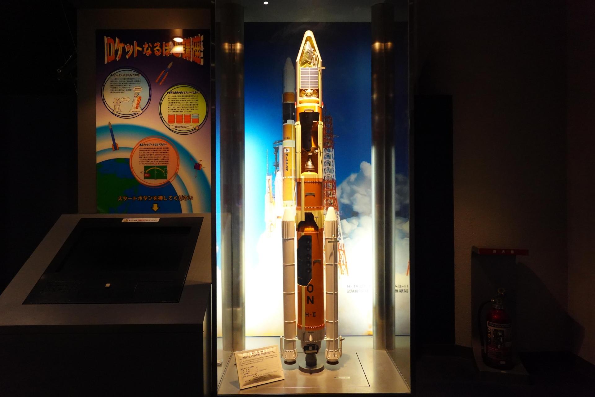 H2ロケット模型