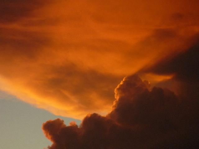 アンティグアでの夕焼け2
