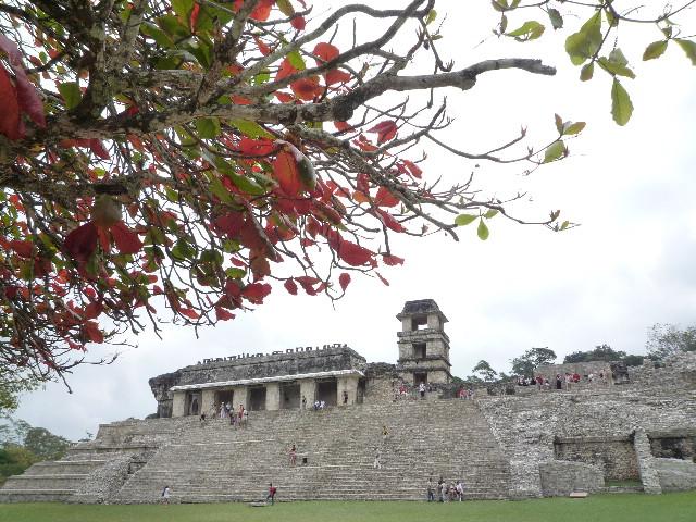Palenque_宮殿