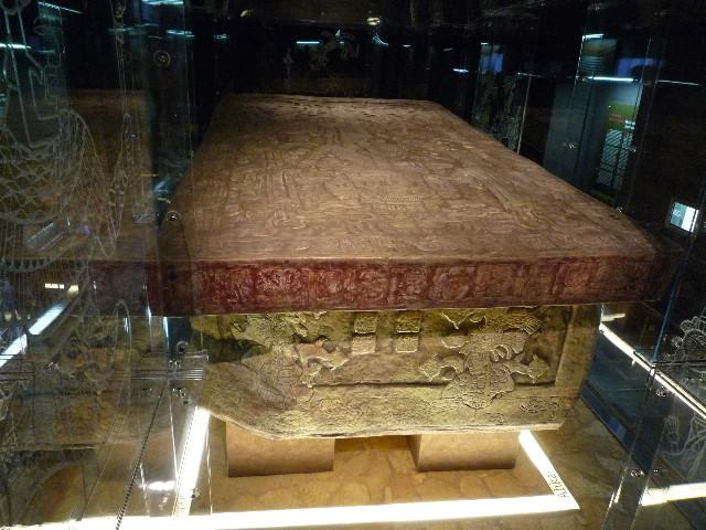 Palenque_パカル王の棺