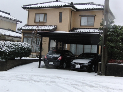 2009年12月18日初雪