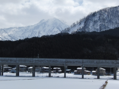 春の鉾ケ岳