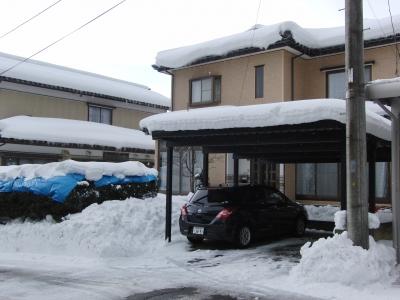 豪雪の片りん