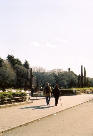 初春の公園3