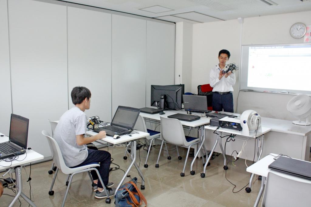 体験入学_ロボットドローン体験実習
