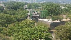 熊本城一部