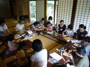 H21夏休み子供工作教室