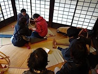 糸紡ぎ教室
