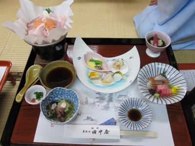 田中屋夕食