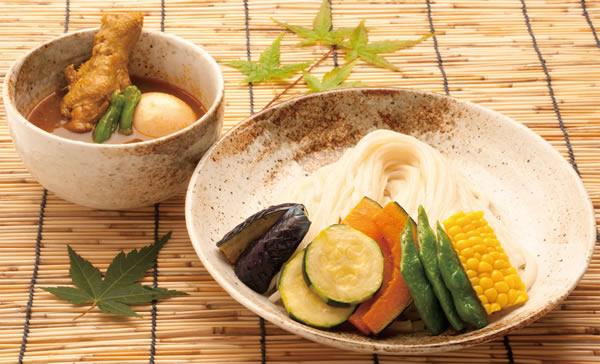 カレースープつけ麺
