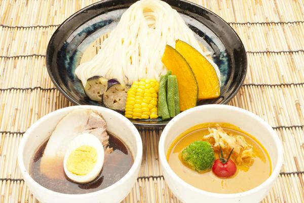 Wスープ 合盛つけ麺