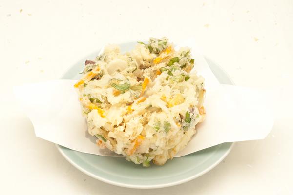 冬野菜 ジャンボかき揚げ