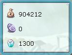 魔石1300個