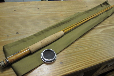 H.L.Jennings Bamboo rod