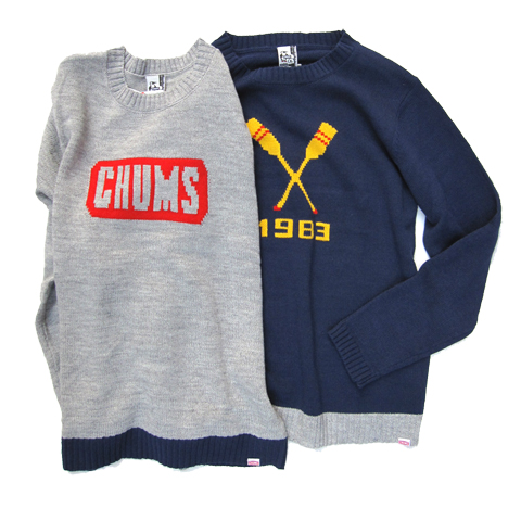 CHUMS_cyclone knit top