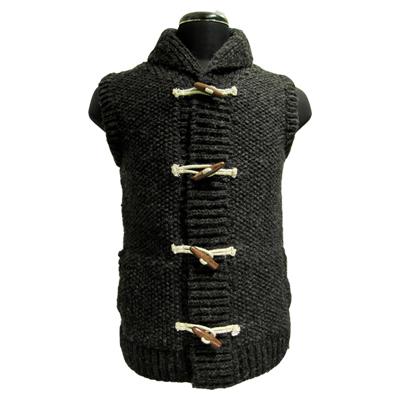 BARNS_Shawl collar Knit Vest