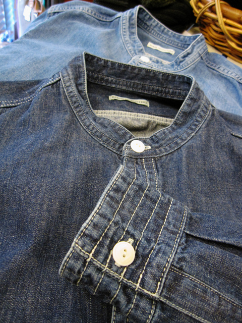 BARNS_denim shirt