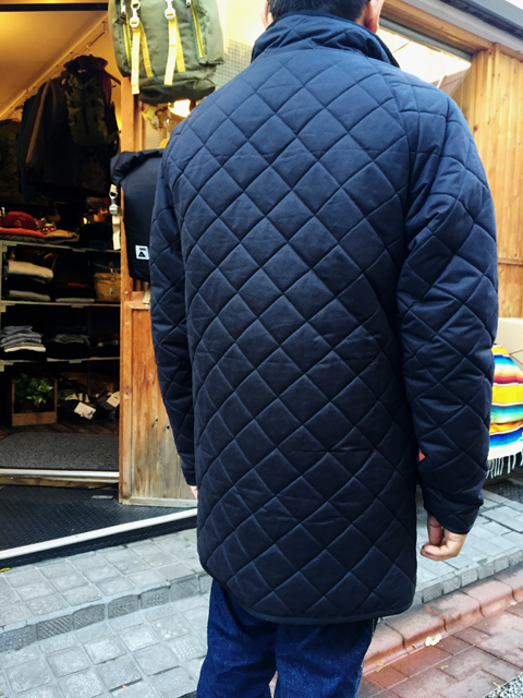 gramicci_airpack quilt 3/4jacket