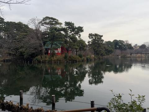 洗足池公園_弁財天