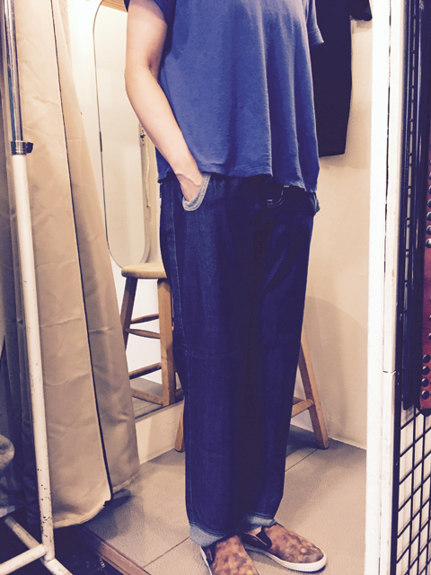 gymmaster_denim rib pants_02.jpg