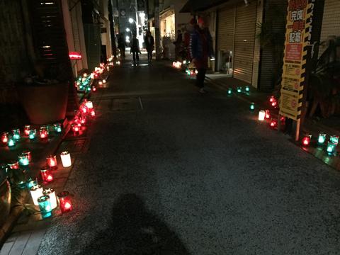 キャンドルナイト in 路地 2017