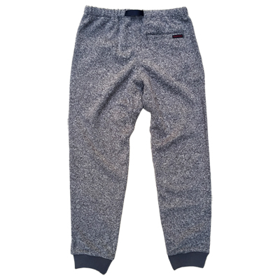gramicci_BONDING KNIT FLEECE NARROW RIB PANTS