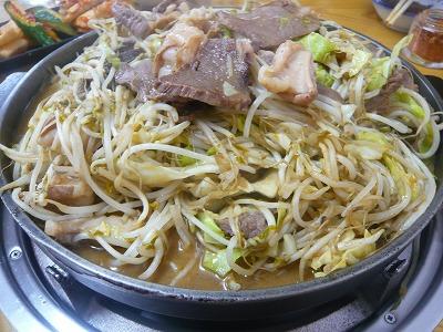 当新田食堂 肉