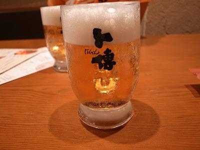 卜傳 生ビール