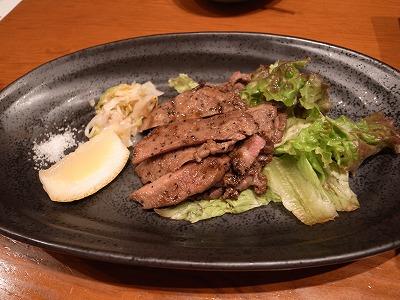 卜傳 牛肉 炙り