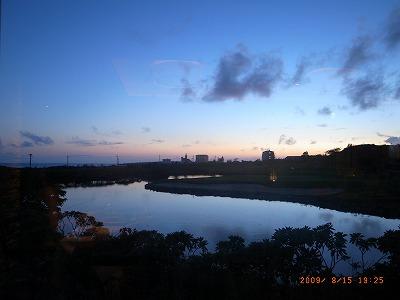 宮古島 フィフスポイント 夕暮れ風景