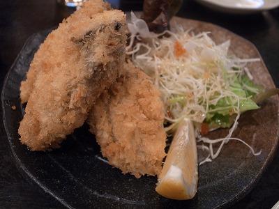 もっこす 牡蠣フライ